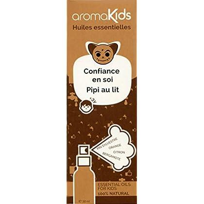 Spray Teddy : Confiance en soi - Pipi au lit: Huiles essentielles 100% naturelles