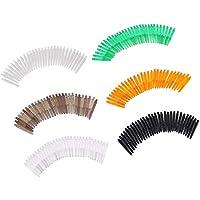 perfeclan 180 Piezas 35 Mm 2ba Hilo Plástico Dardo Tallos Ejes Punta Suave Dardos 6 Colores