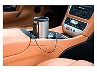 Oramics chauffée mug thermos pour porte-gobelet de voiture en acier inoxydable avec 12 V Car 450ml de connexion