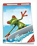 Trötsch Verlag  201939N - Hausaufgabenheft DIN A5 für die Grundschule, Frosch, 96 Seiten, mit extra starkem Klarsichtumschlag