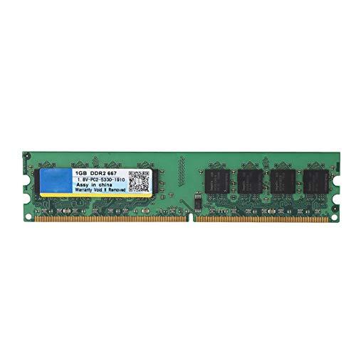 Diyeeni 1GB DDR2 667 MHz 240-pin PC2-5300 RAM Speicher, High Performance Desktop Arbeitsspeicher RAM Memory für AMD Motherboards - Pc4200 Sodimm Speicher