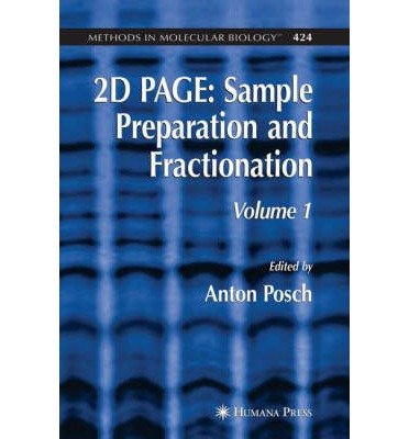 [( 2D Page: Preliminary Entry 2141: Sample Preparation and Fractionation )] [by: Anton Posch] [Apr-2008]