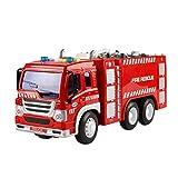 YeahiBaby Feuerwehrauto Spielzeug mit Licht LKW Modell Spielfahrzeuge für Kinder (Fire Sprinkler Truck) für YeahiBaby Feuerwehrauto Spielzeug mit Licht LKW Modell Spielfahrzeuge für Kinder (Fire Sprinkler Truck)