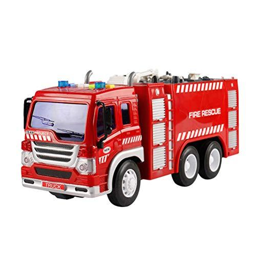 feuerwehrauto YeahiBaby Feuerwehrauto Spielzeug mit Licht LKW Modell Spielfahrzeuge für Kinder (Fire Sprinkler Truck)