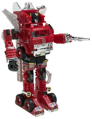 TRANSFORMERS - G1 SERIE 5 - TRUS EXKLUSIVE - AUTOBOT INFERNO - G1 Serie Transformers
