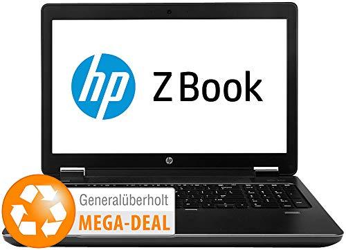'HP ZBook 15, 39,6cm/15,6, Core i7, 16GB, 256GB SSD, Win 10(REFURB.)