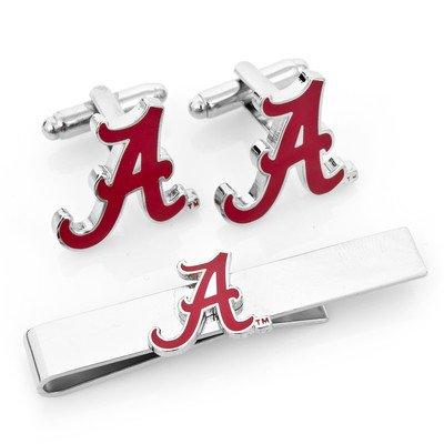 NCAA Herren Alabama Crimson Tide Manschettenknöpfe und Krawatte Bar Geschenk-Set