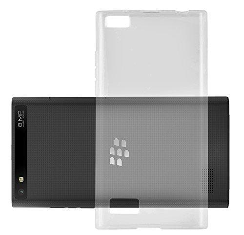 Cadorabo DE-103776 BlackBerry LEAP / Z20 Handyhülle aus TPU Silikon im Ultra Slim 'AIR' Design Soft Back Cover Case Bumper Voll-Transparent