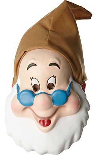 Rubie 's Offizielle Erwachsenen Doc Maske Schnee weiß – eine (Kostüme Fancy Dress Schneewittchen Zwerge Sieben)