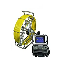 120m Cable Underwater Pipe Camera System Sewer Snake Inspection Camera Waterproof Ip68