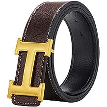 Amazon.es  cinturon elastico plateado - Dorado 58bd5b876234