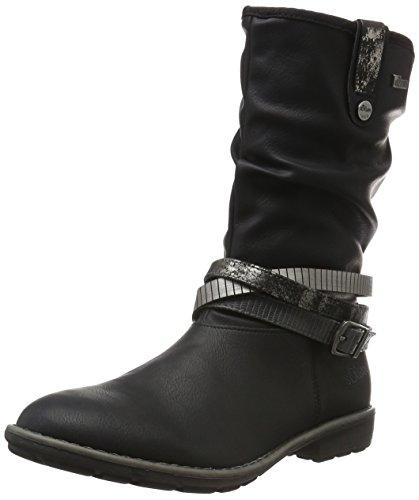 s.Oliver 55606, Bottes Hautes Fille Noir (Black 1)