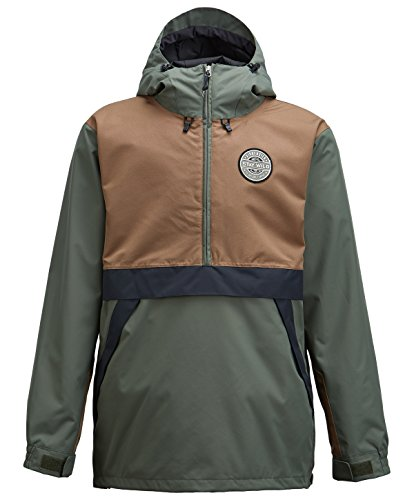 Airblaster Trenchover Snow Jacke olive puddle