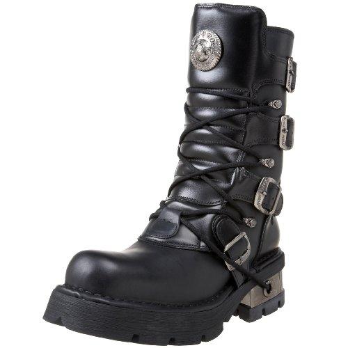New RockM 373 S1 - Stivali unisex adulto , Nero (Noir (Itali Negro/Nomada Negro/Planin)), 37