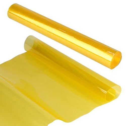 UEETEK-Scheinwerfer-Folie-Tnungsfolie-Nebelscheinwerfer-Gelb-30x180cm