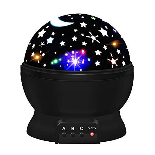 Geschenke für Jungen ab 3-12, Spaß Baby Nachtlicht Spielzeug Mädchen 3-12 Jahre Sterne Projektor Lichter Spielzeug für Mädchen Kinder Indoor Spielzeug für 3-12 Jahre Nachtlicht für Kinderzimmer - 3 Spa