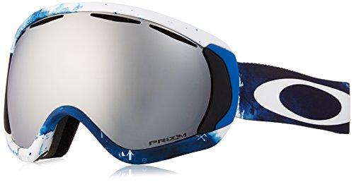 Oakley Erwachsene Snowboardbrille Canopy, JP Auclair Signature Series White/Prizm Goggle Black Iridium, OO7047-08