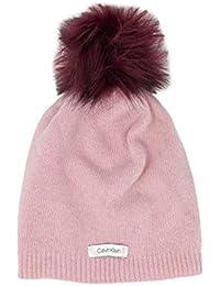Calvin Klein Cappello zuccotto Donna Pom Pom Beanie Color K60K604715 84f81d235a86