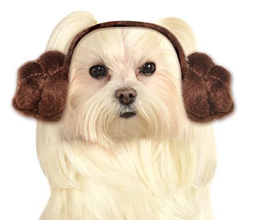 Rubie's Star Wars Hund Haarband Prinzessin Leia Buns, mittelgroß und - Der Zauberer Von Oz Kostüm Für Hunde