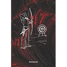 """Notebook: Funny Archery Quote / Saying Archery Training Coach Planner / Organizer / Lined Notebook (6"""" x 9"""")"""