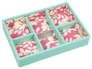 Mini Stackers Jewellery Box - 5 Section - Aqua