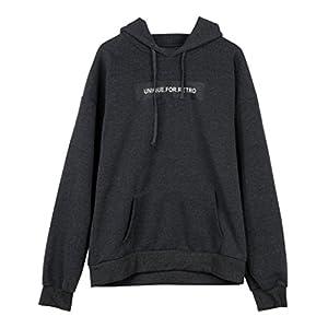 Plus Size Damen Kapuzenpullover, SHOBDW Damen Langarm Hoodie Sweatshirt Pullover mit Kapuze Pullover Tops Bluse
