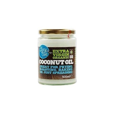Lucy Bee - Huile de noix de coco extra vierge bio 500 ml (lot de 2)