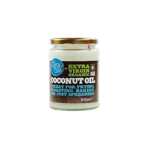 Lucy Bee Extra Virgin Organic Coconut Oil 500ml (Pack of 2) (Grocery)