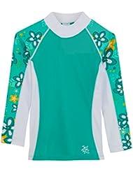 Tuga Mädchen SHORELINE UV-Shirt (Rash guard) - Langarm mit UV-Schutz, UPF50+