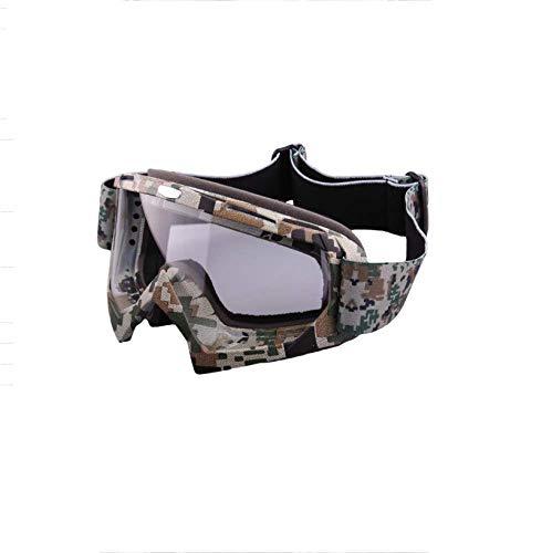 Defect Herren- und Damenmode Schutzbrillen Ski Goggles Outdoor-Ski Spezial-Nebel-Nachweis Doppelspiegel