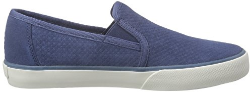 Marc O'Polo Sneaker, Baskets Basses femme Bleu - Blau (denim 870)