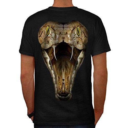 Serpent Cobra Sauvage Animal Amazone Animal Homme XL T-shirt le dos | Wellcoda