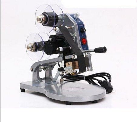 gr-tech strumento® dy-8foil stamp stampante termica diretta codifica Machine data Ribbon Coder 110V o 220V