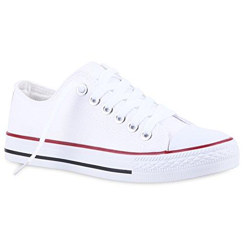 Komfortable Basic Herren Sneakers Low Schnürschuhe Helle