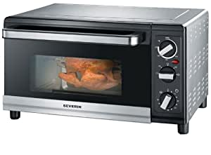 Severin Mini Oven 23 Litre Brushed Stainless Steel