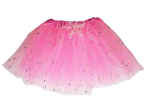 takestop Rock Tutu 'Tutu Pink 30cm Tüll Prom Prinzessin 3Lagen Petticoat Kostüm Tanz Kleid Ballett Mädchen Mädchen
