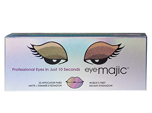 """Eye Majic Instant Eyeshadow – Easy Professional Makeup in 10 Seconds, 20 Pack, 4 Colour Multipack - """"Illuminate\"""