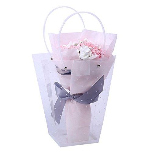 ZTTLOL Cartoon Bouquet von Punkt + Seife Gehobenen Bär Puppe Party Geschenk Spielzeug Für Den Hochzeitstag Luxus mit Geschenk der Valentinstag Box -