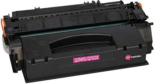 INK INSPIRATION® Premium Toner kompatibel für HP Q5949X Q7553X Laserjet 3390 3392 1320 1320n 1320tn 1320nw M2727nf M2727nfs MFP P2014 P2015 P2015d P2015dn P2015x | 7.000 Seiten