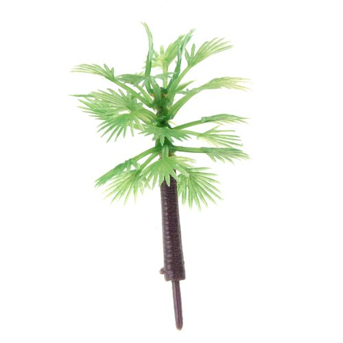 Generic Model Palm Trees Layout Train Scenery Landscape OO HO TT - 10PCS
