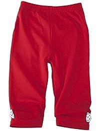 Para Ropa Infantil 3/4Leggings Rojo con lazo 0236