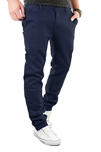 Merish Chino Slim Fit Hose Jeans 6 Farben Neu 68 Dunkelblau