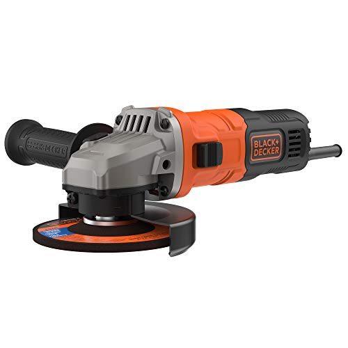 BLACK+DECKER BEG010- QS -  Amoladora 115mm,  710W,  12.000 rpm