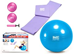 Idea Regalo - Body Sculpture Deluxe, Set per Pilates
