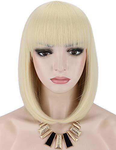 Kalyss peluca corta de Bob para mujer