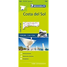 Michelin Costa del Sol: Straßen- und Tourismuskarte 1:200.000 (MICHELIN Zoomkarten)