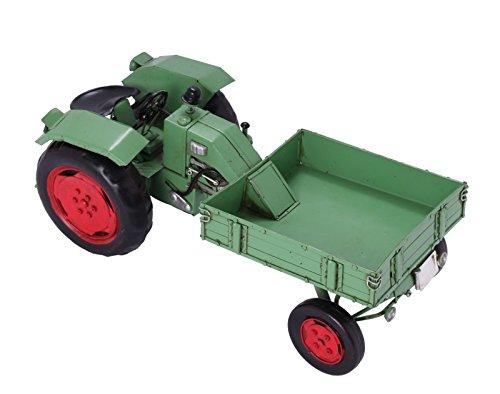 Modellauto - Traktor Fendt Vorderlader - Retro Blechmodell