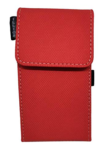 illios® Power Bank Wallet Case Cover for Mi 20000mAH Power Bank 2 (Powerbank Not Included) not suites for Other Models (Red)