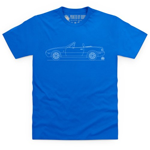 MX-5 Mk1 T-Shirt, Herren Royalblau