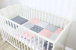 80x80 cm Amilian Baby Bettw/äsche Design: Schmetterlinge Ecru 35x40 cm 2 tlg